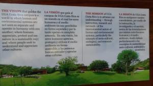UGA Campus Sign