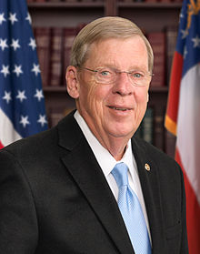 Georgia Senator, Johnny Isakson.