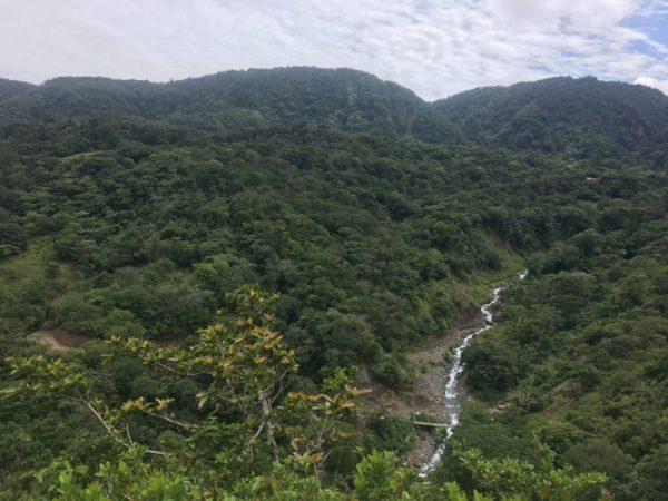 A landscape in Monteverde, Costa Rica